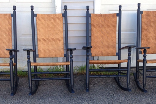restore your family heirlooms, Full Service Seat Repairs, New England Porch Rockers